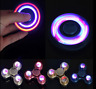 Fidget Spinner LED Flash Aluminum ADHD Finger Focus EDC Bearing Anti Stress Toy