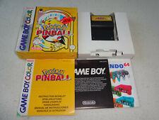 Pokemon Pinball Nintendo Game Boy Color Spiel