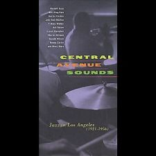 Central Avenue Sounds NM 4 CD Box Set Jazz in Los Angeles 1921-1956 Rhino