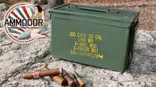 Ammodor Ammo Can Cigar Humidor - .50 cal surplus ammunition box combat humidor