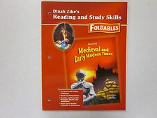 Dinah Zike's Reading Study Skills Foldables Glencoe Medieval Early 007870250X