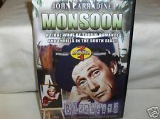 Monsoon` 2 Movies,John Carradine New DVD `Free To US