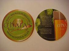 Beer Pub Coaster ~ O'HARA'S  Irish Pale Ale ~ Carlow Brewing, IRELAND Since 1996