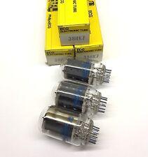 (3 un..) 38HK7 Philips Ecg USA Válvula tubos NOS