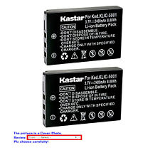 Kastar Replacement Battery for Kodak KLIC-5001 & Kodak EasyShare Z760 Zoom