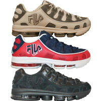 Mens Fila SILVA TRAINER Classic Retro Cross Training Trainers Shoes 3 Colors