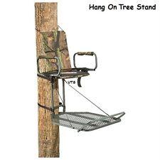 Hang On Tree Stand Deer Hunting Big Game Treestand Hog Rifle Gun Cross Bow NEW