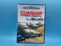 jeu video sega mega drive complet BE PAL gunship