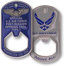 U.S. Air Force Commemorative - USAF Dog Tag / Bottle Opener