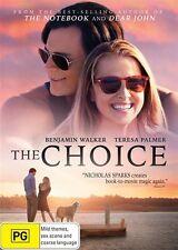The Choice (Dvd) Drama, Romance Film, Benjamin Walker, Teresa Palmer Movie