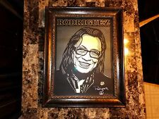 Rodriguez Rare Autographed Signed Lithograph Searching For Sugar Man Sixto BAS