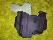 HOLSTER WITH EXTRA MAG BLACK KYDEX FN 5.7 MK2 W/RMR REFLEX FIVE SEVEN HERSTAL