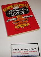 vintage 1986 HEMMINGS MOTOR NEWS ALMANAC directory -- SEVENTH EDITION