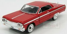 Chevrolet Impala Coupe 1964 Red MotorMax 1:24 MTM73259R
