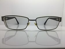GIORGIO ARMANI Gunmetal & Havana Designer Glasses Eyeglasses Frames