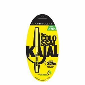 Maybelline New York Colossal Kajal, Black, 0.35g Maybelline