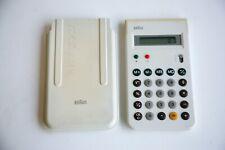 Rare Vintage Retro 1960s 70s BRAUN 4835 Calculator Model Dieter Rams Modernist