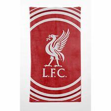 Liverpool FC Impulsion Serviette Bain Plage 100% Cotton Football Logo Club