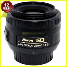 Obiettivo Nikon AF-S 35mm. f1,8 G per fotocamere reflex digitali APS DX usato