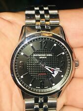 Raymond Weil Men's Diver Watch.  Stainless steel band rater for 300 foot depth.