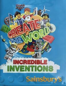 LEGO Create The World INCREDIBLE INVENTIONS 2018 Sainsburys Choose Trading Cards
