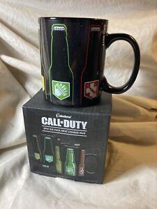 Rare Paladone Call of Duty Epic Six Pack Heat Change Coffee Mug NIB (t)