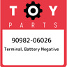90982-06026 Toyota Terminal, battery negative 9098206026, New Genuine OEM Part