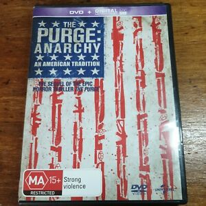 The Purge ANARCHY DVD R4 LIKE NEW FREE POST