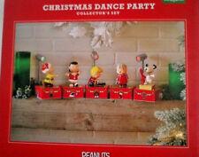 2017 Hallmark  Peanuts Christmas Dance Party Collector's Set Special Edition NIB