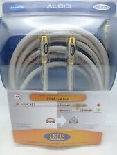 IXOS Overture XHK506 5 meter Subwoofer Cable w/y-adapter 16 feet