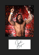 DANIEL BRYAN #1 (WWE) Signed (Reprint) Photo A5 Mounted Print - FREE DELIVERY