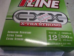 P-Line CXX-Xtra Strong Filler Spool (300-Yard, 12-Pound, Moss Green)
