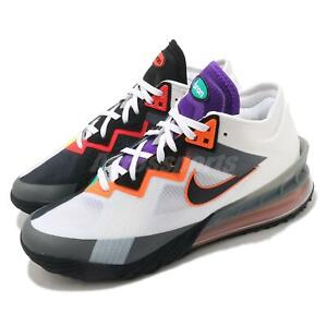 Nike Lebron XVIII Low EP 18 James Greedy White Multi Men Basketball CV7564-100