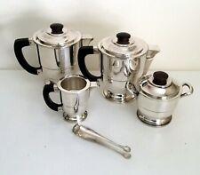 French Art Deco Coffee/Tea Set by Albert Frionnet