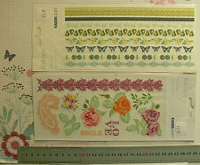 RUB-ONS Pickled Pear  & Flora Delight Designs 210x110mm Kaisercraft 2 Choice L6