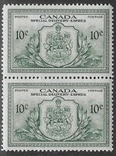 Canada, Peace Issue Special Delivery 1946 10¢ Green  Sc #E11, VF, PR/OG -dw59.10
