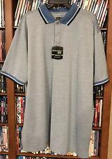 PGA Tour Motionflux 360 Moisture Wicking Blue Golf Polo Shirt Men's Size XLT