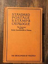 Vintage 1948 Standard Postage Stamp Catalogue Volume 1 Encyclopedia Philately