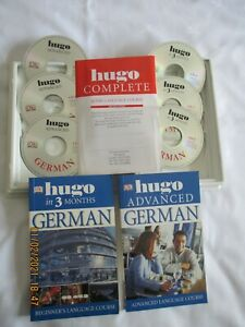 GERMAN LANGUAGE CD COURSE ALL COMPLETE WITH BOOKS ETC