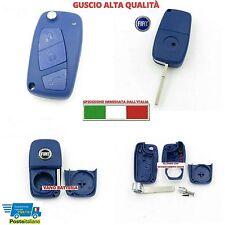GUSCIO COVER CHIAVE BLU 3 TASTI SCOCCA TELECOMANDO FIAT PANDA PUNTO BRAVO STILO