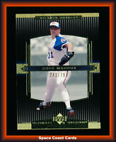 2002 Ultimate Collection Atlanta Braves Baseball Card #6 Greg Maddux /799
