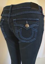 True Religion SUPER SKINNY LOW RISE CASEY  Jean Women 28 in ATWATER AVE NAVY
