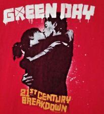 Green Day T Shirt Medium 2010 Tour 21st Century Breakdown