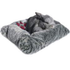 Snuggles Luxury Plush Small Pet Bed 31 X 22 cm
