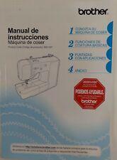 Brother Manual De Instrucciones 885-V67 Sewing Machine Manual...