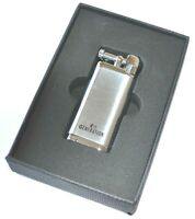Erik Stokkebye 4th Generation Pipe Soft Flame Lighter Silver Chrome Classic