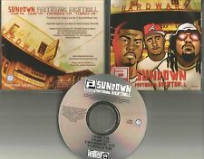PARENTAL ADVISORY EIGHTBALL 8ball Sundown INSTTRUMENTAL &CLEAN & ACPELA PROMO CD