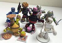 Teenage Mutant Ninja Turtles TMNT Minimates Series 4 Set of 7