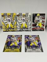 2020 LEAF DRAFT ROOKIE LOT JOE BURROW LSU #1 MINT!!!