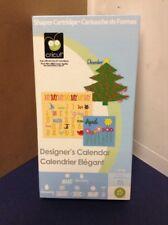 Cricut Cartridge - Designer's Calendar - Gently Used - Complete!